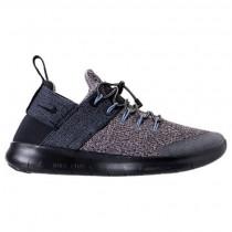 Grau/Schwarz Damen Nike Free Rn Commuter 2018 Premium Schuhe Aa1622 001