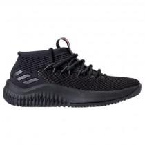 Adidas Dame 4 Herren Basketball Schuhe Bw1518 Schwarz/Scharlachrot/Schwarz