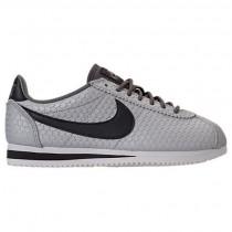 Damen Nike Cortez Se Schuh 902856 006 - Metallisch Zinn/Tief Zinn/Weiß