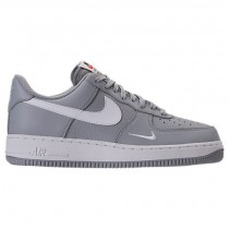 Herren Wolf Grau/Weiß Nike Air Force 1 Low Sneaker 820266 018