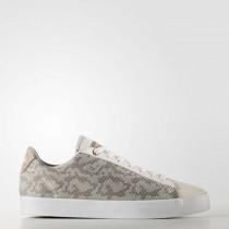 Adidas Neo Cloudfoam Daily Qt Clean Frauen Schuhe Cg5755 Kreide Weiß/Perle Grau/Eisig Rosa