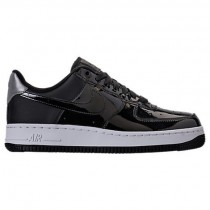 Schwarz/Reflektierend Silber Damen Nike Air Force 1 '07 Se Premium Schuh Ah6827 001