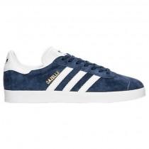 Frauen Adidas Gazelle Schuhe By9359 In Kollegium Marine/Weiß/Gold Metallisch
