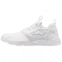 Männer Reebok Furylite Classic Schuhe (Weiß/Weiß/Schwarz)