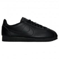 Nike Cortez Klassisch Leder Damen Schuhe 884922 001 Schwarz/Schwarz/Schwarz