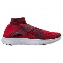 Zäh Rot/Granatapfel Rot/Wasserstoff Blau Herren Nike Free Rn Motion Flyknit Sneaker 880845 601
