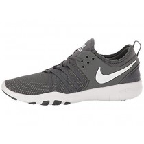 Damen Nike Free Tr 7 Dunkel Grau/Weiß Schuhe