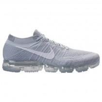 Männer Nike Air Vapormax Flyknit Schuh 849558 004 Grau Weiß/Weiß/Wolf Grau