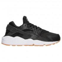 Damen Schwarz/Gummi/Gelb/Weiß Nike Air Huarache Run Se Schuh 859429 005