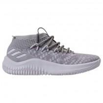 Adidas Dame 4 Männer Basketball Schuhe By4495 Onix/Weiß/Lila