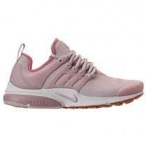 Damen Nike Air Presto Premium Schuh 878071 601 (Schlick Rot/Rot Sternenexplosion/Beige)