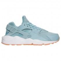 Frauen Nike Air Huarache Run Se Glimmer Blau/Gummi/Gelb/Weiß Schuh 859429 400