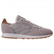 Reebok Classic Leder Ebk Herren Sneaker Bs7850 Im SandStein/Kreide/Gummi
