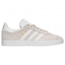 Adidas Gazelle Frauen Schuhe By9360 Löschen Braun/Weiß/Gold Metallisch