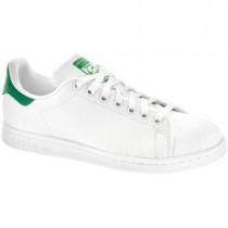 Frauen Adidas Stan Smith Weiß/Grün Schuh
