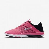 Nike Free Tr 6 833413-600 Frauen Schuhe - Rosa Sprengen/Schwarz/Weiß/Weiß