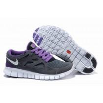 Grau Lila Weiß Nike Free Run 2 Damen Schuh
