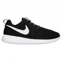 Frauen Nike Roshe One Schuhe 844994 002 Schwarz/Weiß/Dunkel Grau