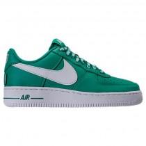 Männer Nike Nba Air Force 1 '07 Lv8 Schuhe 823511 302 - Neptune Grün/Weiß