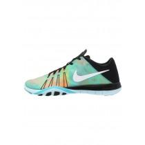 Nike Free Tr 6 Damen Sports Sneaker - Schwarz/Weiß/Gamma Blau/Licht Blau