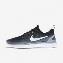 Schwarz/Cool Grau/Dunkel Grau/Weiß Nike Free Rn Distance 2 Männer Sneaker