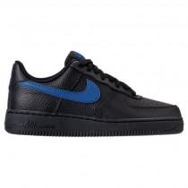 Schwarz/Fitnessstudio Blau Herren Nike Air Force 1 '07 Sneaker Aa4083 003