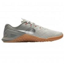 Dunkel Grau/Metallisch Silber/Blass Grau Nike Metcon 3 Herren Schuhe