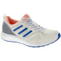 Damen Adidas Adizero Tempo 9 Hi-Res Orange/Hi-Res Blau/Aus Weiß