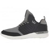Herren Supra Method Dunkel Grau/Weiß Schuhe
