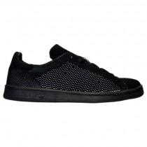 Herren Adidas Originals Stan Smith Grundgestrickt Schwarz Schuhe S80065