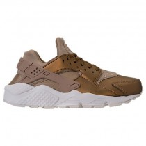 Nike Air Huarache Run Premium Txt Damen Schuhe Aa0523 201 Neutral Olive/Metallisch Feld