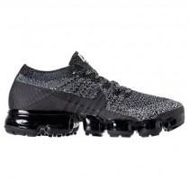 Schwarz/Weiß/Rennfahrer Blau Damen Nike Air Vapormax Flyknit Sneaker 849557 041