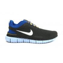 Frauen Kohlenstoff Grau/Königlich Blau Nike Free Og Id Schuhe
