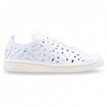 Frauen Adidas Originals Stan Smith Ausgeschnitten Weiß Schuh Bb5149