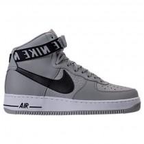 Herren Nike Nba Air Force 1 Hoch 07 Schuh 315121 044 Silber/Weiß