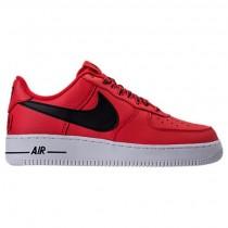 Universität Rot/Schwarz Herren Nike Nba Air Force 1 '07 Lv8 Schuh 823511 604