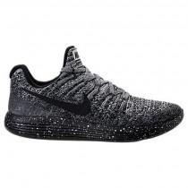 Nike Lunarepic Low Flyknit 2 Frauen Sneaker 863780 041 Schwarz/Weiß/Rennfahrer Blau
