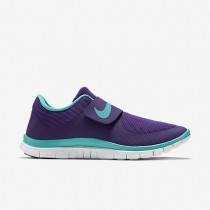 Nike Free Socfly Herren/Damen Sd Gericht Lila/Licht Retro