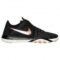 Schwarz/Metallisch Rot/Bronze/Gipfel Weiß Frauen Nike Free Tr 6 Schuhe 833413 005