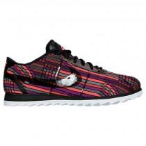 Damen Nike Cortez Ultra Jacquard Premium Sneaker 885026 001 - Schwarz/Schwarz/Heiß Lava