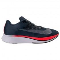 Nike Zoom Fly Herren Blau Fuchs/Schwarz/Hell Crimson Sneaker 880848 400