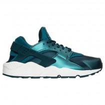 Damen Nike Air Huarache Run Se Schuhe 859429 901 Metallisch Dunkel Meer