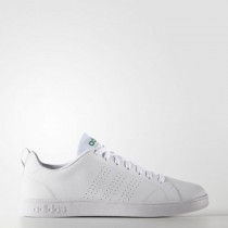 Männer Weiß/Grün Adidas Neo Vs Advantage Clean F99251 Schuhe