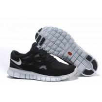 Nike Free Run 2 Schwarz Fluoreszierend Grün Weiß Damen Schuh