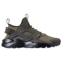 Mittel Olive/Ladung Khaki/Schwarz Herren Nike Air Huarache Run Ultra Schuhe 819685 202