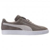 Puma Wildleder Klassisch+ Herren Schuhe 36324202 - Vintage Khaki/Puma Weiß