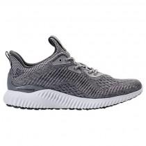 Männer Adidas Alphabounce Em Grau/Grau/Weiß Schuhe Bw1205