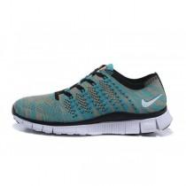 Grün/Grau Nike Free Flyknit Nsw Frauen/Männer Sneaker