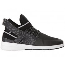 Supra Skytop V Frauen Schwarz/Weiß Schuhe
