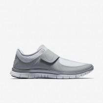 Nike Free Socfly Weiß/Weiß/Grau Herren/Damen Schuhe